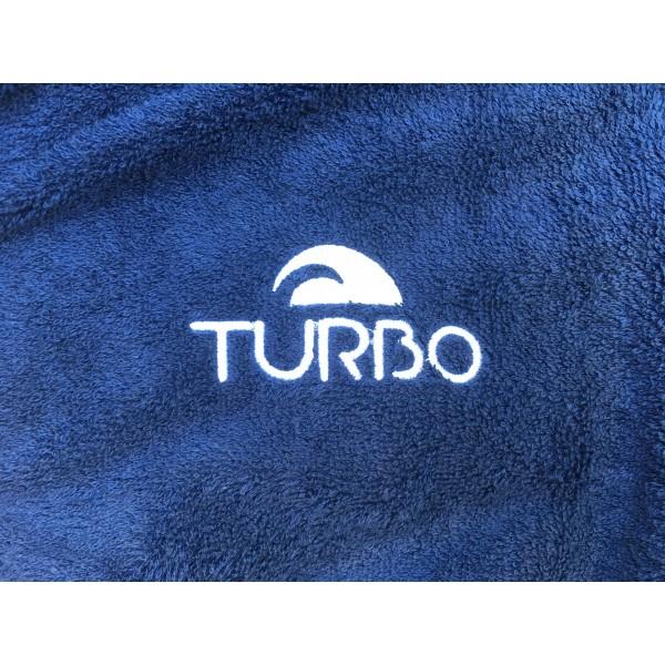 Turbo Como fürdőköpeny kék