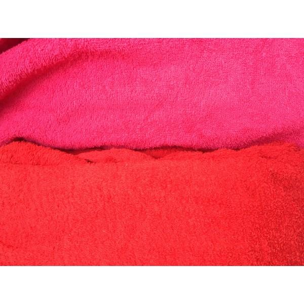 Turbo Como fürdőköpeny piros